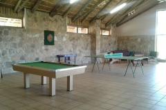 Communal games room