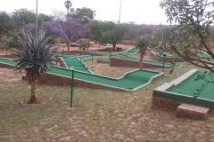 9-hole putt putt course
